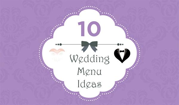10 creative wedding menu ideas plyvine catering 10 creative wedding menu ideas junglespirit Choice Image